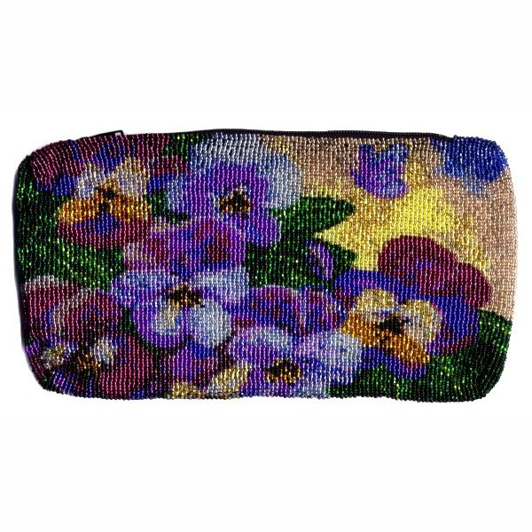 Pansy Butterfly Clutch Bag
