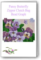 Pansy Butterfly Clutch