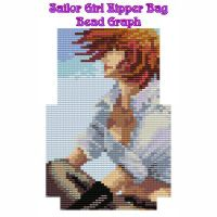 Sailor Girl Zipper Bag
