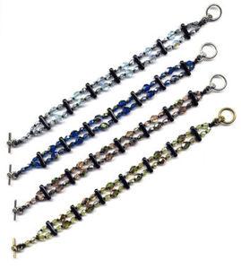 olive bar bracelet - Beaded Bracelet Design Ideas