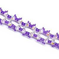 Square Purple Bracelet