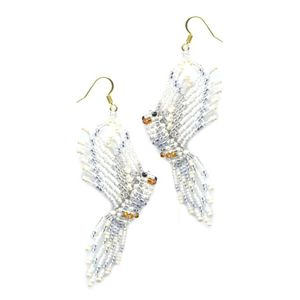 3D Dove Earrings