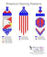 American Fringe Earrings Bead Graph