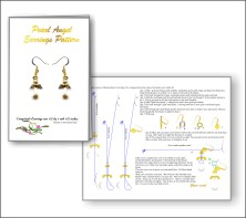 Pearl Angel Earrings Patterns & Kit
