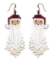 Santa Dangle Earring