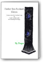 Panther Eyes Bookmark