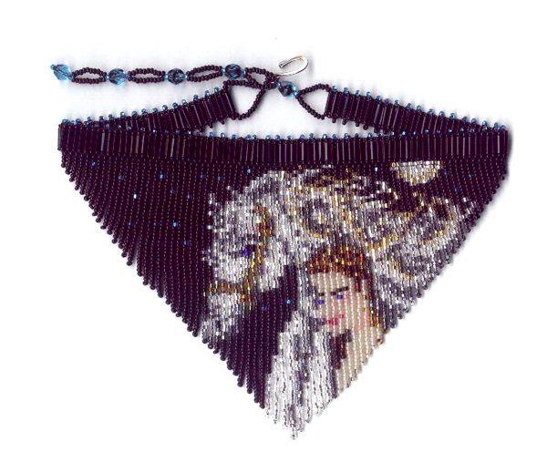 Horse S Love Fringe Necklace Beading Patterns And Kits