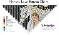 Horse's Love Fringe Necklace