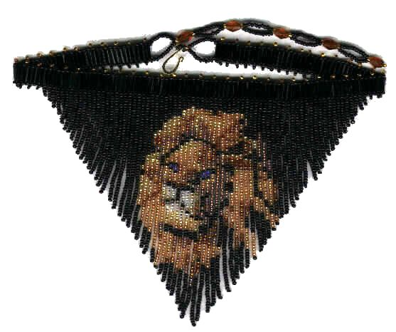 Lion Fringe Necklace