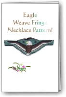 Eagle Weave Fringe Necklace