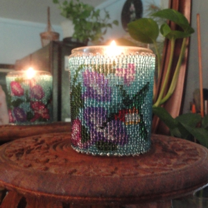 Hummingbird Candle Holder