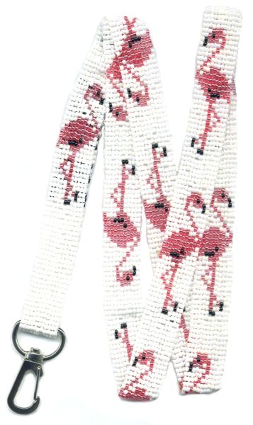 Flamingo Lanyard Beading Patterns And Kits By Dragon The Art Of