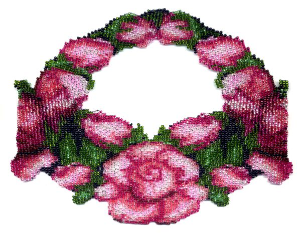 Rose Weave Necklace