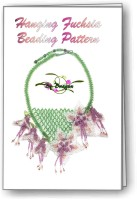 Hanging Fuchsia Necklace