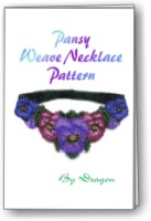 Pansy Weave Necklace