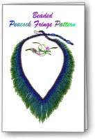 Peacock Fringe Necklace