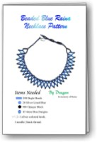 Raina Blue Necklace
