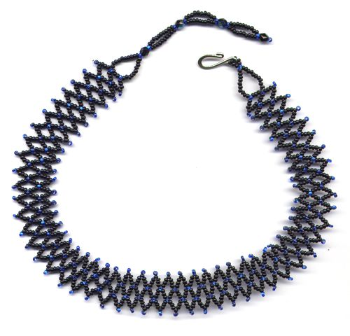 Simple Accordion Necklace