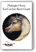 Midnight Horse SunCatcher Ring