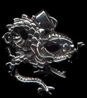 Dragon #5 Pendant Sterling Silver