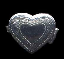 Heart Box Sterling Silver