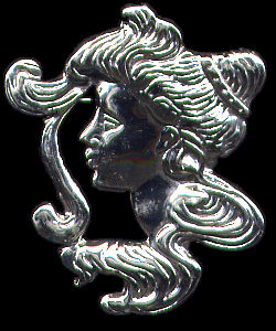 Venus Pin Sterling Silver