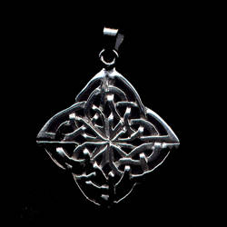 Celtic #2 Pendant Sterling Silver
