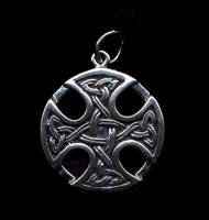 Celtic #3 Pendant Sterling Silver